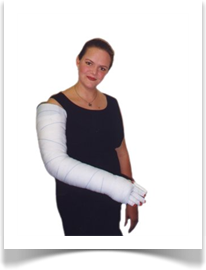 The OptiFlow® EC fully bandaged